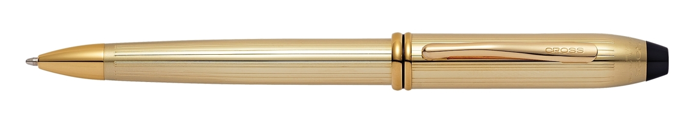 CROSS TOWNSEND 10K ROLLED GOLD BALL POINT PEN